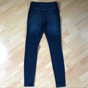 Mossimo Supply Co. Jeans - Mossimo Dark Rinse High Rise Jegging/Jean